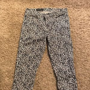 Midrise Toothpick pants by J Crew